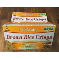 Deligrains Brown Rice Crisps- Multi Grain 100g