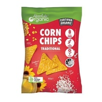 Absolute Organic Corn Chips | Traditional | 160g