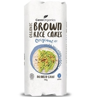 Organic Brown Rice Cakes 110g