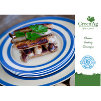 GreenAg Organic Classic Turkey Sausages 300g