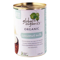 Global Organics Coconut Milk 400g