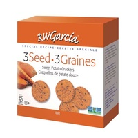 RW Garcia 3 Seed Crackers Sweet Potato 184g