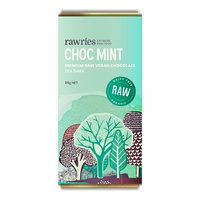 Mint Chocolate, Organic, Vegan, Rawries, 55g